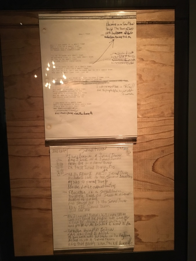 R&RHOF - Mellencamp Small Town Lyrics